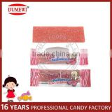 Yummy Strawberry Sugar Coated Sour Belts Candy