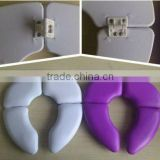 Baby plastic folding potty toilet seats