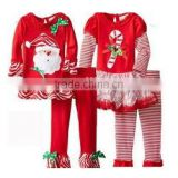 Factory price wholesale sales baby boys clothes Girl's sweetheart lollipop Christmas pajamas