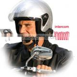 intercom and interphone headset for universal motorcycle intercom communication for driver passenger
