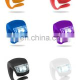 Hot-sale silicone cover bike warning light