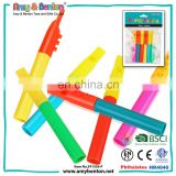Promotional toys mini small plastic colored flute for kids