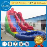 Brand new slides for sale giant park inflatable water island with EN14960