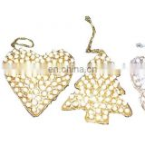 PEARL CHRISTMAS HANGING TREE STAR,BUTTERFLY ,SHOES