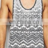 gym Singlet - tank top /vest/ gym singlet/ high quality /100% cotton