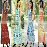 Indian Mandala Tapestry Round bohemian Skirts Wrap long skirt