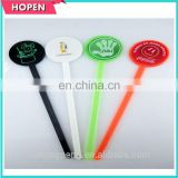 Novelty plastic stick/plastic stirrer/ coffee stirrer