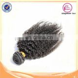 Fast delivery factory wholesale hair weft virgin indian grey hair naturally curly