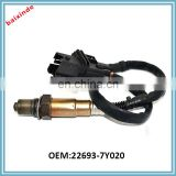 Baixinde Cheap car sensor price For NISSANs Oxygen Sensor Auto Sensors 22693-7Y020