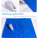 Corrugated Plastic Sheet Notching Cutter NC02