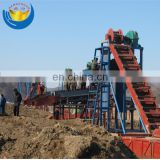 Submersible Gold Dredger Professional Bucket Chain Sea Sand Mining Dredge