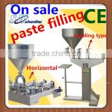 Manual cream filling machine (5-50ml)+pneumatic+food grade stainless steel+free shipping