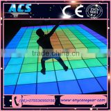 ACS amazing disco light led portable dance floors, hot sale led light dance floor stage light