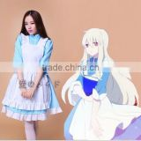 High Quality Lolita Girls Skirt Sexy Dress Lolita Maid Dress Kozakura Mari Cosplay Costume Halloween Costume Sexy Fancy Dress