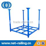 Warehouse steel stacking storage tire racking