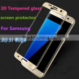3D Curved Full Clear transparency S7 edge Tempered Glass Screen Protector For Samsung Galaxy S7 edge