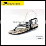 Lady's bling bling jelly sandal