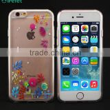 Summer Colorful Flower Custom Printing Soft TPU Silicon Phone Case For iPhone 6                                                                         Quality Choice