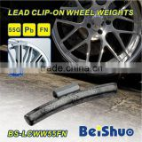 Lead Clip-on Tire Coated Wheel Balancing Weight