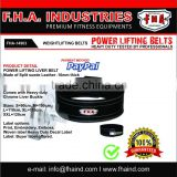 Power lifting Liver Buckle Belt 10mm Genuine Leather Weightlifting Accessories by FHA INDUSTRIES PAKISTAN