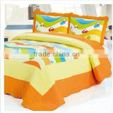 Cartoon printed children patchwork children quilt,children summer air conditioning quilt
