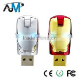 Iron Man Popular Style Stainless Steel USB Flash Memory Driver Manufacture                                                                         Quality Choice