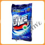 high quality custom print laundry detergent bag/washing powder packaging bag/washing powder bag