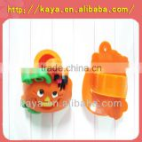 Promotional rubber pencil topper with pumpkin design
