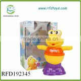 Lovely plastic dinosaur style 4 in 1 baby bath toy