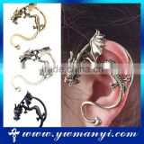 Aliexpress hot sale fashion dargon ear cuff for women/ men