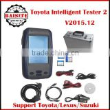 2016 Latest version toyota denso intelligent tester 2 3 year warranty auto car diagnostic scaner with software 2016.03 in stock