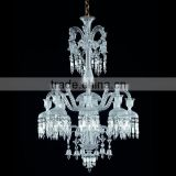 Modern crystal baccarat style chandelier lighting