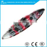 Best quality LLDPE Hull material fishing kayak with pedals and rudder system