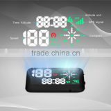 EM03B GPS car HUD Head UP Display in Digital Display For Automotive, HUD GPS Navigation, CE/FCC/ROHS