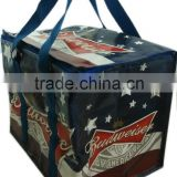 Budweiser promotion pp woven beer bag for 48 cans drink