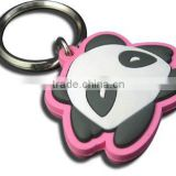 Wholesale Custom Design Various Shapes Multicolor New Promotional Gifts Cute Funny Soft PVC Keychain