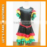 PGWC0200 Carnival halloween spanish gypsy dress costumes vestidos rockabilly fancy dress