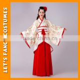 PGWC2483 Wholesale chinese traditional dress carnival fancy dress costume for advertising