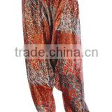 indian printed harem trouser pants rayon trousers online