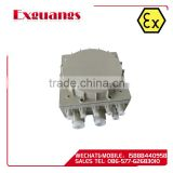 BJX51- series Explosion proof distribution box earthing cable 1 way junction box(IIB IIC DIP)