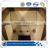 Granary plate liner/super-slide plastic dump truck and trailer liners/low temperature - resistant truck bed liner