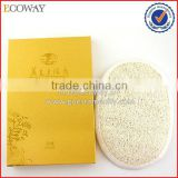 OEM Bulk Hotel Double Side Natural Loofah Sponge