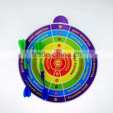 Factory selling good gifts for kid dart board floor mat magnet dart board small gifts for kids