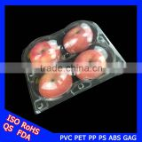 2016 New Clear Plastic Apple Containers