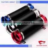 Universal Adjustable Washable Car Turbo Cold Air Intake Pipe Hose Tube kit