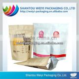 biodegradable kraft stand up pouch with zipper for wholesale                                                                         Quality Choice