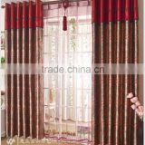 floral curtain design and curtains for manufactured home