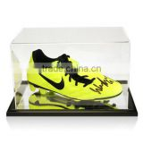 Customizing Acrylic Display Case for Wayne Rooney Signed Football Boot