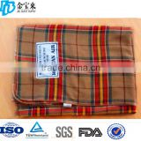 Soft polyester life comfort travel flight blankets