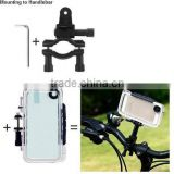 hansfree cell phone bike mount case fit android phones